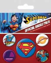 Superman Badge Pack